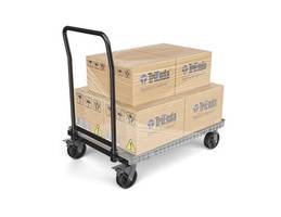 New Small Format Pallet and Delivery Cart for Tight Shipping Spaces and Storage Constraints