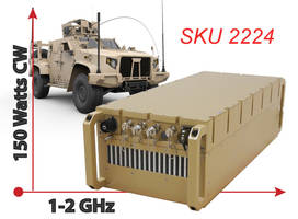 Rugged L Band SSPA for Satcom Uplink