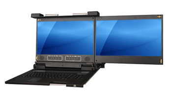 New Rackmount Console Drawer Supports FHD with 1080P Resolution