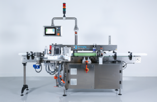 New Pressure-Sensitive Labeler Features SmartLink HMI