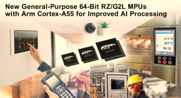 New RZ/G2L MPUs Feature Cortex-M33 core