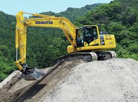 New PC210LCi-11 Excavator with Bucket Angle Hold Control