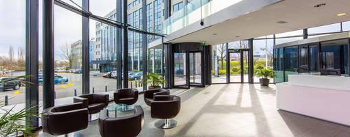 Ferrero Rocher Installs Custom Golden Boon Edam Revolving Door at New Luxembourg Headquarters