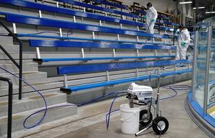 New Disinfectant Sprayer Delivers up to 1000 psi of Spraying Power