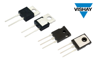 New SiC Schottky Diodes Available with Current Ratings from 4 to 40 A