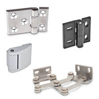 New Multi-joint Hinges with Indexing and Locking Functions