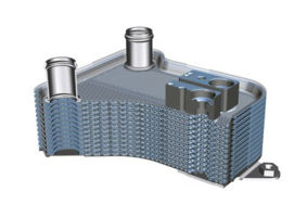 New High-pressure Heat Exchanger Uses CO2 as The Cooling Medium
