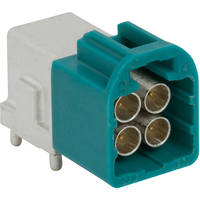 New Mini-FAKRA Connectors Support up to 20 Gbps Data Transmission
