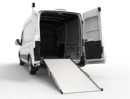 New Folding Aluminum Ramp Features Robust Steel Deck Mounting Plate