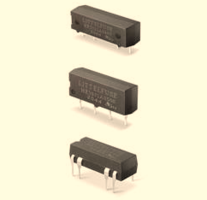 New Reed Relays Provide Input/output Isolation Voltage of 2500 VRMS