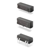 New Reed Relays are Ideal for Switching of Loads with up to 2500 V Isolation