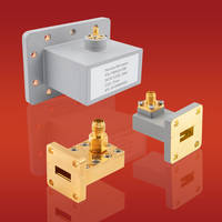 New Waveguide-to-Coax Adapters for Satellite and Wireless Communications