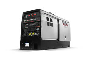 New Engine Driven Welder/Generator with 41hp Turbocharged Perkins Diesel Engine