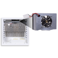 New Variable Speed PWB-320-FAN Produces 24 dBA SPL at 80 W Heat Load