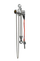 New TCW Hoists Available in 1/2 and 1 Ton Capacities