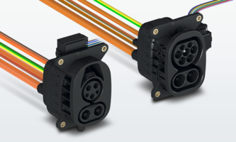 New CHARX Charging Inlets Meet IEC 62196 and SAE J1772 standards