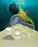 Meller Custom Sapphire Lenses, Windows & Domes are Ideal for Autonomous Underwater Vehicles