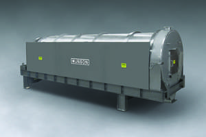 New Mixer Employs 20 ft. Long by 60 in. Diameter Rotating Cylinder