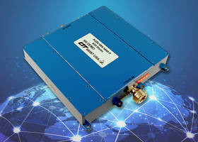 New GaN-Based 630-Watt Power Amplifier Operates in the Frequency of 9.4 to 9.9 GHz