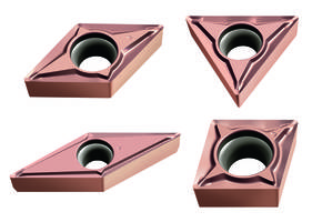 New Cermet Turning Inserts Offered with FP2 Geometry