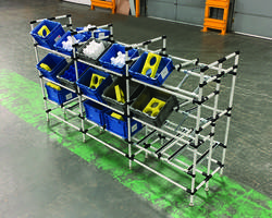 Latest Flow Racks are for Automotive Parts Suppliers