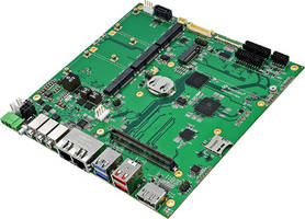 New ITX-M-CC452-T10 Board with Built-in Storage Spans microSD, SATA and mSATA