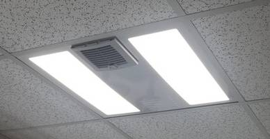 New UVC Troffers Provide Indoor Sanitation