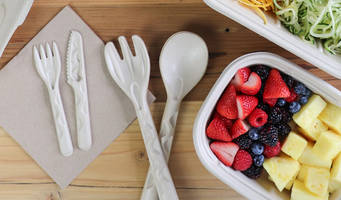 New Compostable Molded Fiber Cutlery is Ideal for Use in Disposable Foodservice Industry