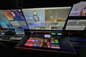 New Digital Video Switcher with Integrated Frame Synchronizers and Multi-viewers