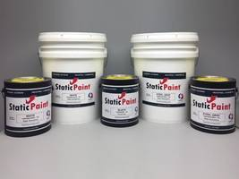 Antistatic Industries announces a NEW conductive, 103 Black Static Paint®