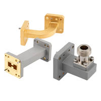New Double Ridge Waveguide Components with Straight Sections, Bends and Twist Configurations