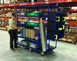 Latest Kitting Cart is Ideal for Electro-Mechanical Manufacturers