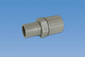 New Flare Adapters are Ideal for Pigmented Polypropylene Piping System
