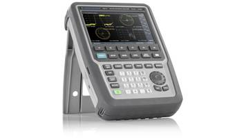 New Handheld Vector Network Analyzer Comes with Built-In Receiver Step Attenuator