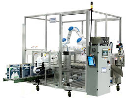 New Case Packer Features Mobile Cell with Safety Door and Interlocking