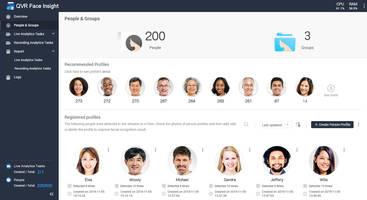New QVR Face Software Provides Face Recognition and Surveillance Management