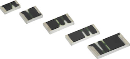 Latest Thick Film Chip Resistors Feature Solder-Coated Nickel Barrier Terminations
