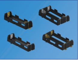 New SMT and THM Battery Holders for High-energy Portable Medical Devices