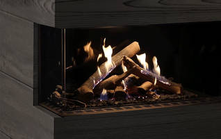 Ortal Introduces Chopped Wood Media for Wilderness Collection Luxury Fireplaces