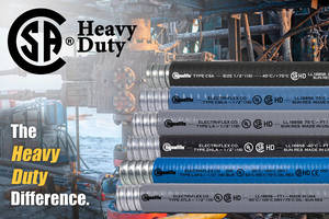 Liquatite® Conduit Types ATLA and LAFG are Now CSA Certified 'Heavy-Duty'