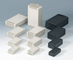 OKW's TOPTEC Plastic Enclosures - Now In 28 Permutations