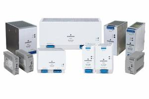 New Three-phase Power Supplies Deliver 24 Vdc Output