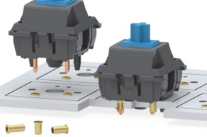 New Mill-max Receptacles Offer Three Length Options of .105, .130 and .155 inches