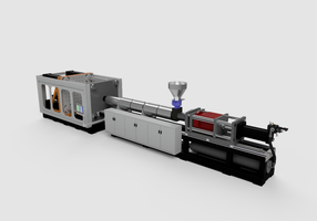 New LUMINA Medium Pressure Injection Molding Machine With Inline First-In, First-Out Accumulator