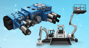 New Pre-Compensated Hydraulic Valve Features Load-sensing Capabilities