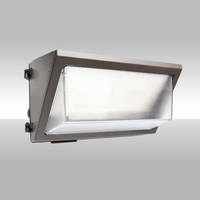 New WallMax Open Face LED Wall Packs are Available in Five Wattages