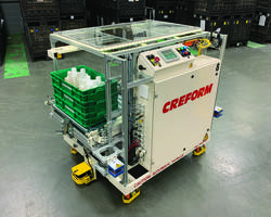 New Custom AGV System Can Travel at Speeds up 50 M/min