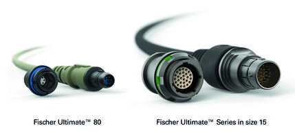 New UltiMate 80 Connector Offers Shock and Cable Bending Resistance
