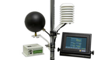 New Wet Bulb Globe Temperature with Weather Display Console