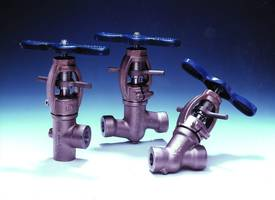 "New Clampseal Globe Valves Are Available in 1/2"" to 4"" Sizes"
